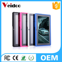 "Q8 7 Inch Android Tablet PC 8GB Allwinner A33 Dual Cameras WIFI Kids Tablet Bundle 7"" USB Keyboard Case"