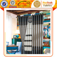 Wholesale blackout grey curtain design for hall