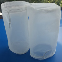 NMO25 50 100 150 200 220 micron nylon filter bag,nylon mesh filter bag,monofilament wire filter bag