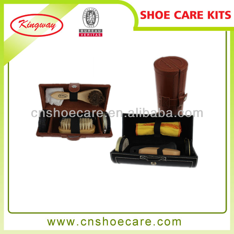 Best quality travel shoe shine box with low price