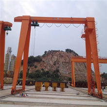 Single girder gantry crane for loading and unloading