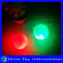 Bottom Price Unique Led Golf Ball For Night Time Trainin