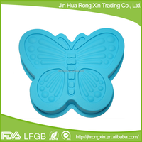 Baby food flexible silicon jelly cake mould