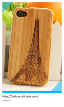 Eiffel Tower bamboo cases for iphone 6 6plus 5 5s 5c 4 4s