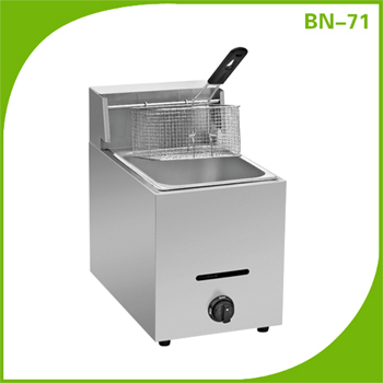 Stainless Steel Cooking Kitchen Hotel Restaurant Equipment Gas Fish Fryer BN-72 China Supplier
