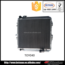 small aluminum radiator for toyota hilux auto radiator for sale