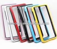 Double Colors TPU Bumper Frame Case Skin Cover for Blackberry Z10 BB10 Bumper case