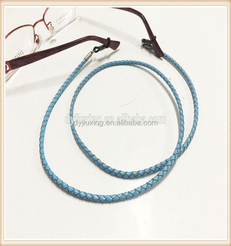 wholesale eyeglass holder glasses string leather necklace cord