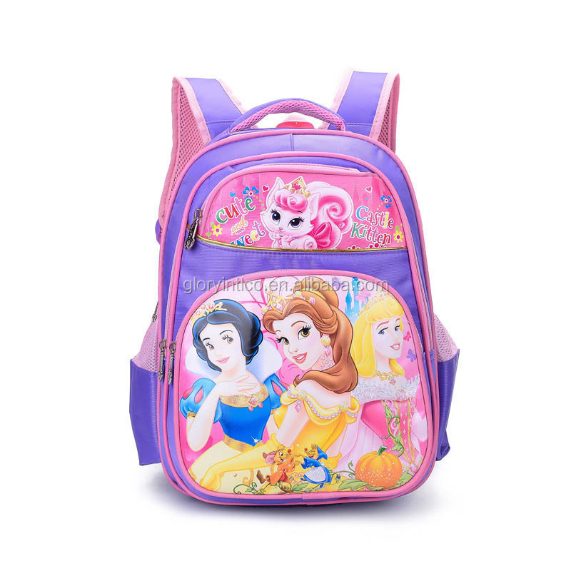 China manufacturer high quality nylon kids school backpack bag for children