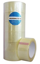 "Packing Tape 2""x110 Yds 2.0 Mil - Bopp Material (Clear/Brown /Tan)"