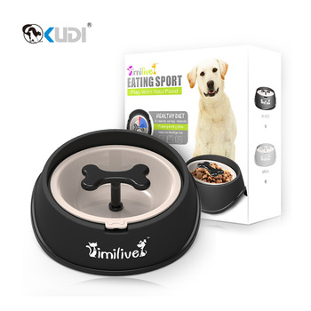 High Quality Slow Feed Pet Dog Slow Eating Bowl For Dog Health