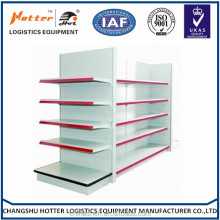 2017china manufacture used medium flat panel supermarket shelf
