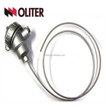 anti-corrosion assembly armored bending thermocouple armoured thermocouple probe