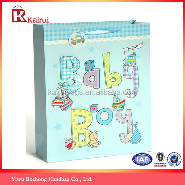 Durable Colorful Lucky Gift Paper Bags Wholesale