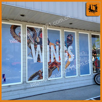One Way Vision Vinyl Films Transparent Perforated Window Film