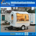 Mobile Towable Type Food Vending Trailer hot dog cart Price for Sale