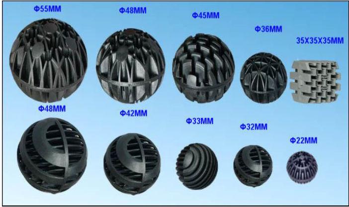 China manufacturers aquarium filter media bio balls for for Diy biological filter media
