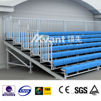 Aneasy Professional Outdoor Metal Structural Bleacher System with scaffolding design