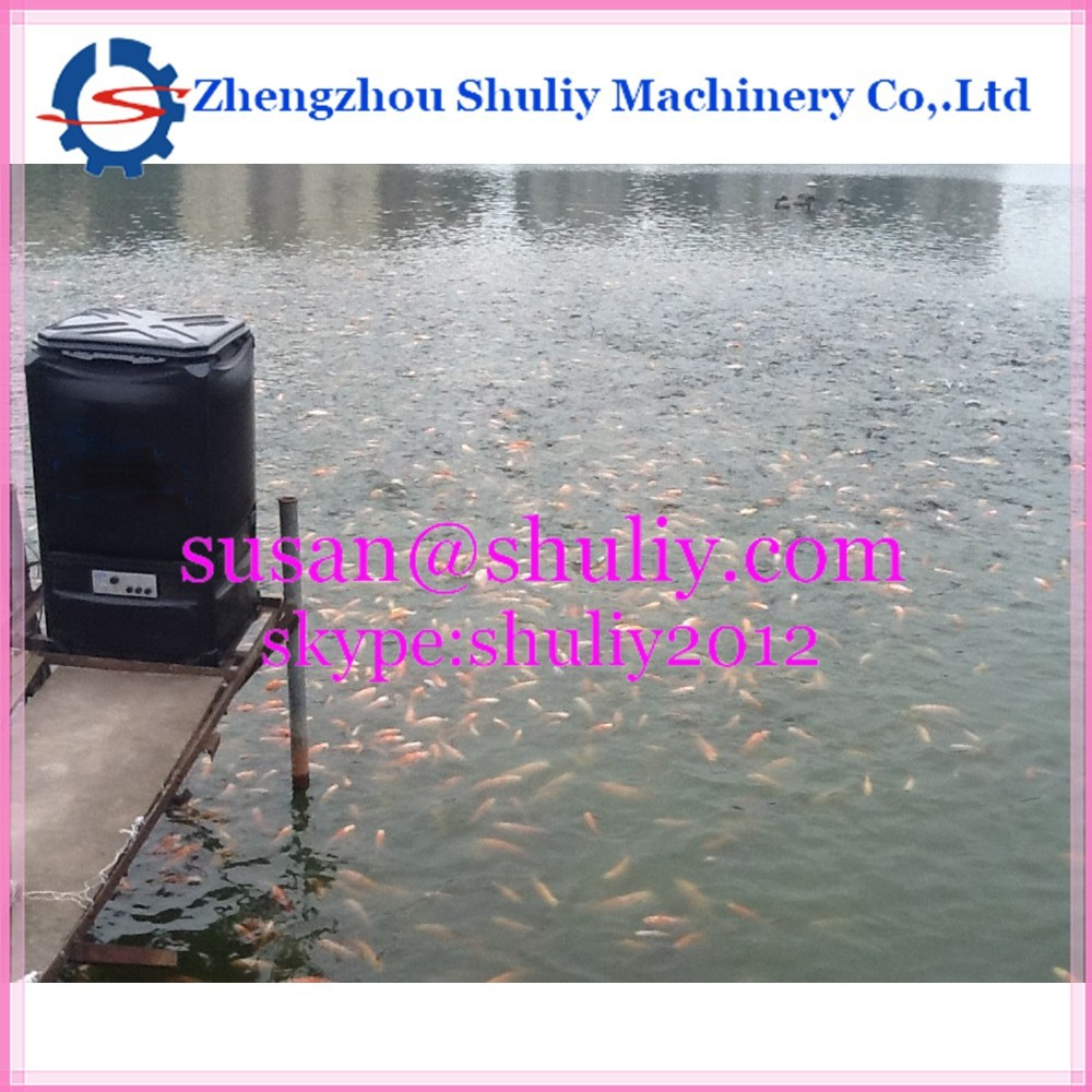 0086-15093262873 automatic fish food feeder,Bait casting machine