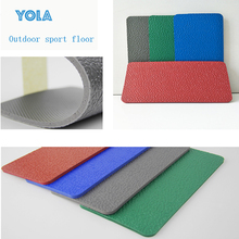 6mm Waterproof School Used Volleyball Sport Court PVC Flooring