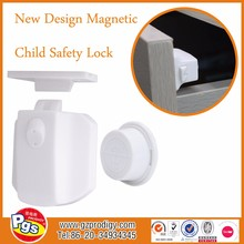 4 Locks + 1 Key baby safety drawer lock, magnetic safety cabinet lock