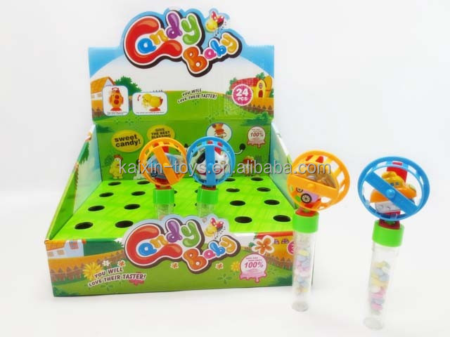 hot sale wind up vehicle candy toy with EN71