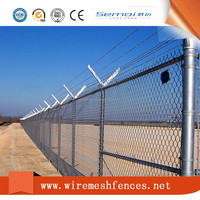 High Quality Green Chain Link Safety Fence For Sale