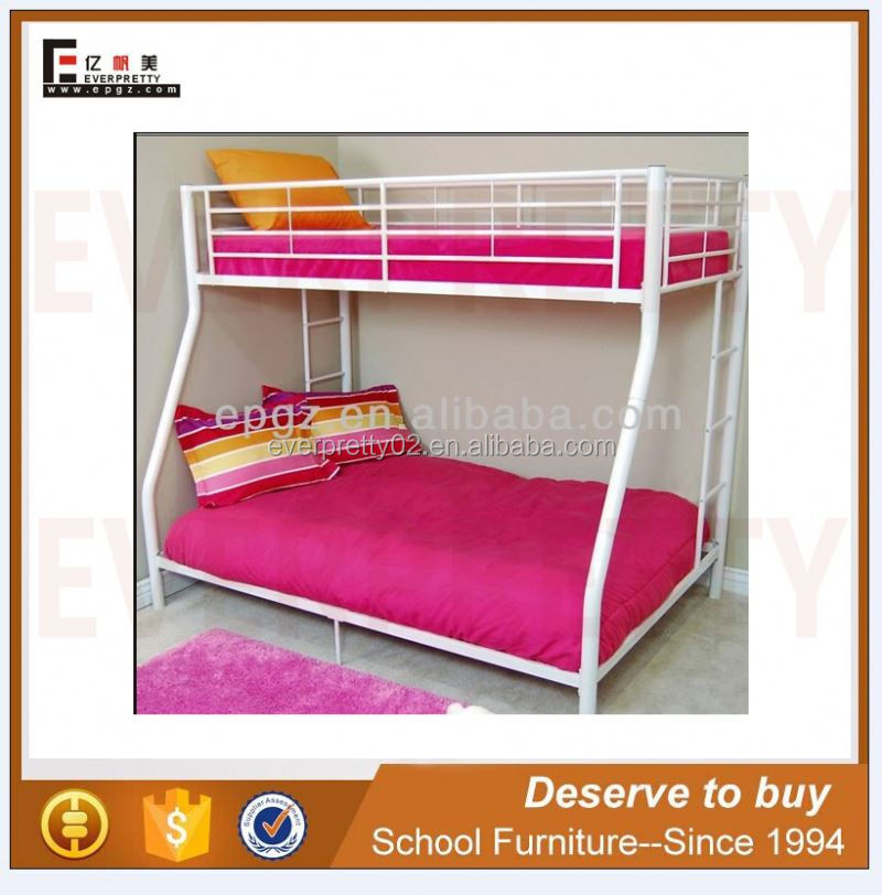 High quality cute metal bunk bed for girls room