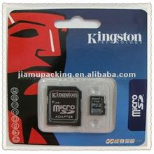 memory card plastic packing