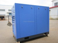 Model FC-200 150KW (200HP 27.60m3/min 8bar)German air end German parts rotary screw compressor .76 dB
