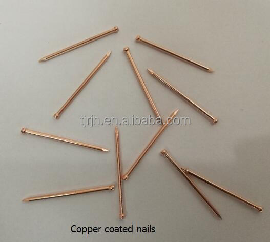 Plain bright iron wire nails