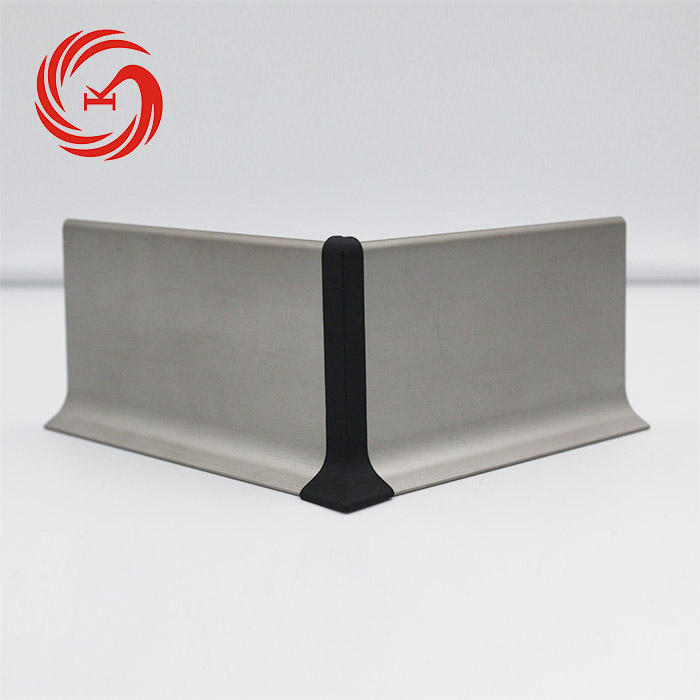 China Foshan 70mm floor kitchen cabinet aluminum skirting board
