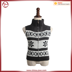 Slim fit sexy design old fashion knitted pattern woman knitwear