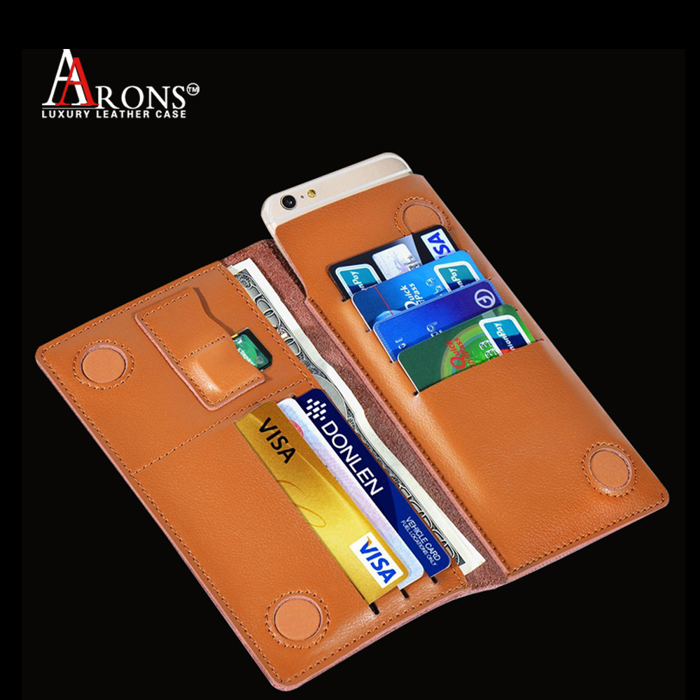 Universal smart phone wallet style leather case phone case leather