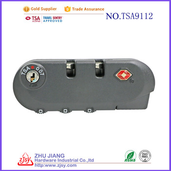 hot sale TSA combination Luggage Lock