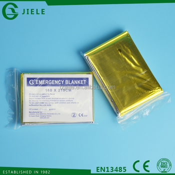 first-aid thermal emergency blanket with CE &ISO