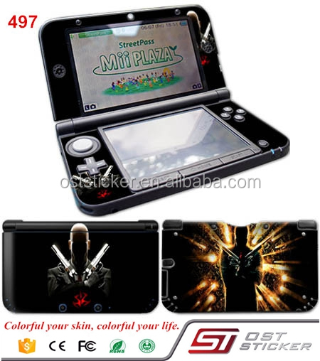 Hitman pvc custom decal for 3DS XL LL vinyl skins sticker