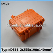 High quality IP68 Orange hard abs plastic case tool boxes