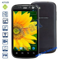 ZTE U930 4.3'' IPS Android 4.0 Smartphone (Nvidia Tegra2 Dual Core 1.2GHz/3G/Dual Mode/GPS Bluetooth 2.1 Wifi/4GB