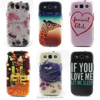 Thin Slim Soft gel TPU Pink Flower Painted Phone Cases Back Cover For Samsung GALAXY S3 GT-i9300 9300 S3 NEO S3 s4 5 6 Duos Case