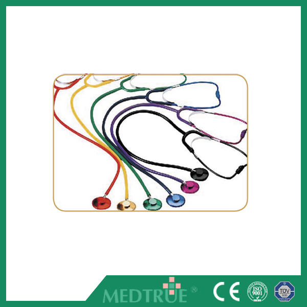 CE/ISO Passed Medical Stethoscope Colored Single Head For Adult (MT01016002)