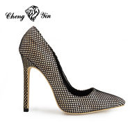 Women fashion stiletto shoes autumn 2019 new high heels for office lady formal dress