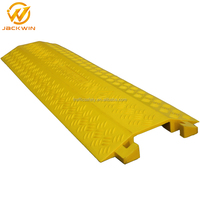 Flexible Plastic Cable Cover Single Channel For Wire