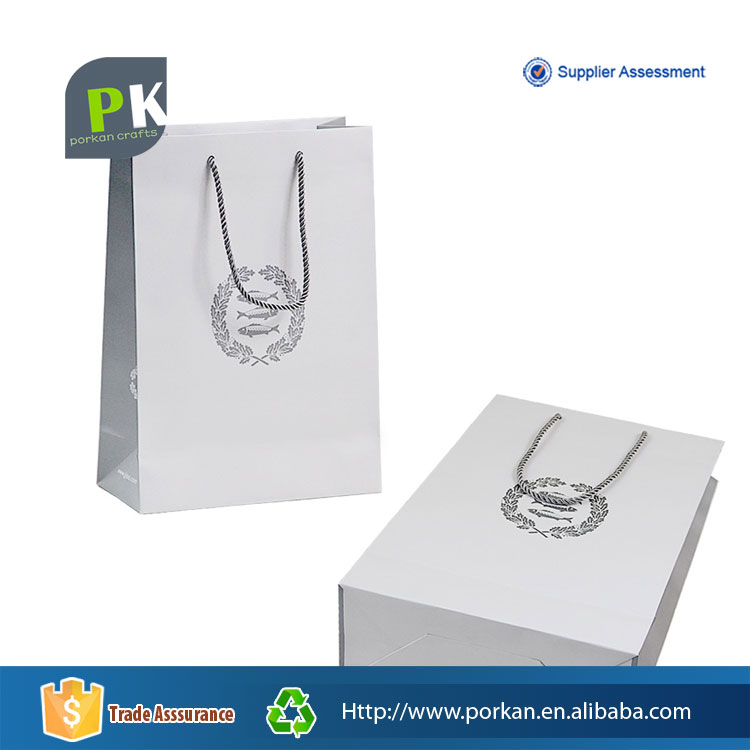 Laminated Shopping Foldable Paper Tote Bag