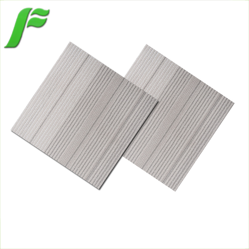 Factory direct supplier wood look rubber flooring vinyl plank