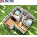 lowes kit homes 86sqm prefabricated modular home for sale