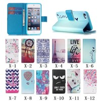 Colorful fancy leather case for ipod touch 5,for ipod touch 5 case,for children