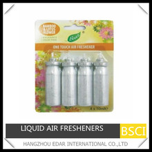 4Pk 10ml Press Liquid Air Freshener Refills