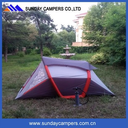 Outdoor family camping durable inflatable air tent made in China