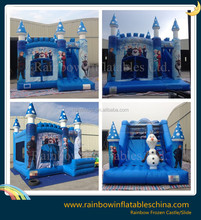 Inflatable Frozen Castle Slide/Inflatable Popular Cartoon Bouncy Castle/Inflatable Game